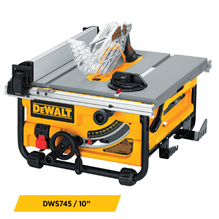 Portable Table Saws Equipment